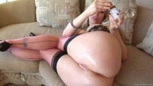 Gape Me Adrianna Nicole Gets Both Her Holes Filled